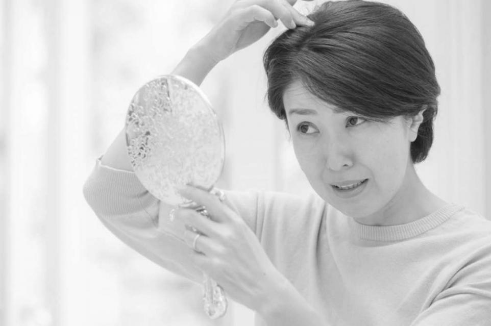 毛髪(女性)42