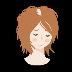 毛髪(女性)38